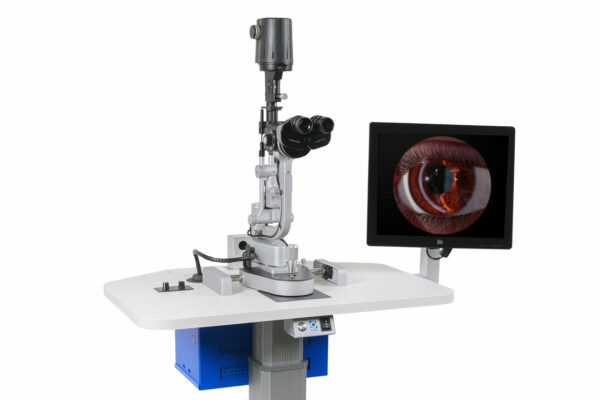Eyesi Slit Lamp simulator by VRmagic (© VRmagic/Lachnith)